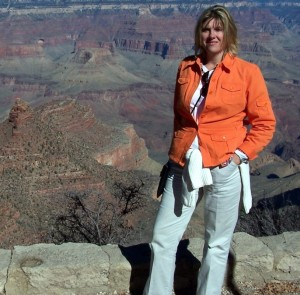Connie while visiting the Grand Canyon.