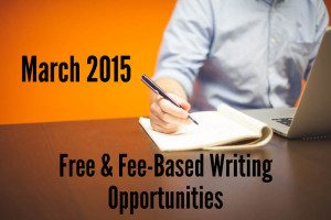 DEE March 2015 Writing Opportunties