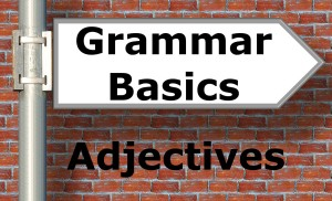 Grammar Basics Adjectives